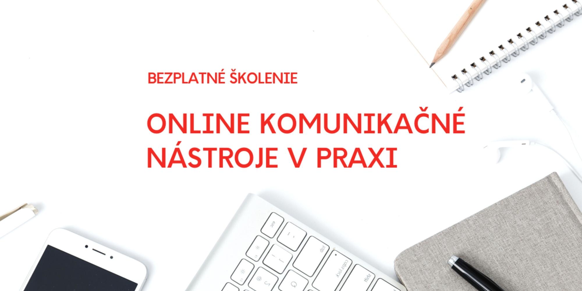 Školenie – online komunikačné nástroje